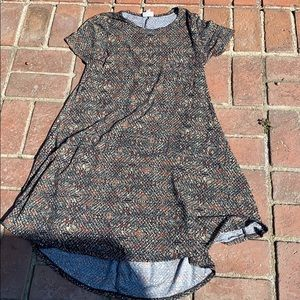 LuLaroe Carly dress Size Small tribal print